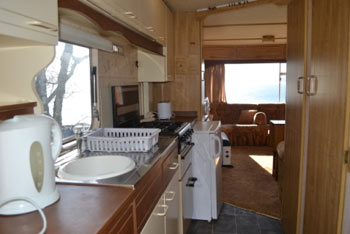 Caravan two kitchen